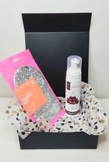Luxueze geschenkenset/ giftset van Suntana met een Velvotan selftan glove/ handschoen
