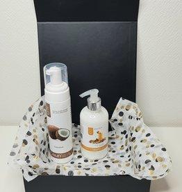 Luxe geschenkenset / giftset Suntana selftan  mousse en tan extender crème