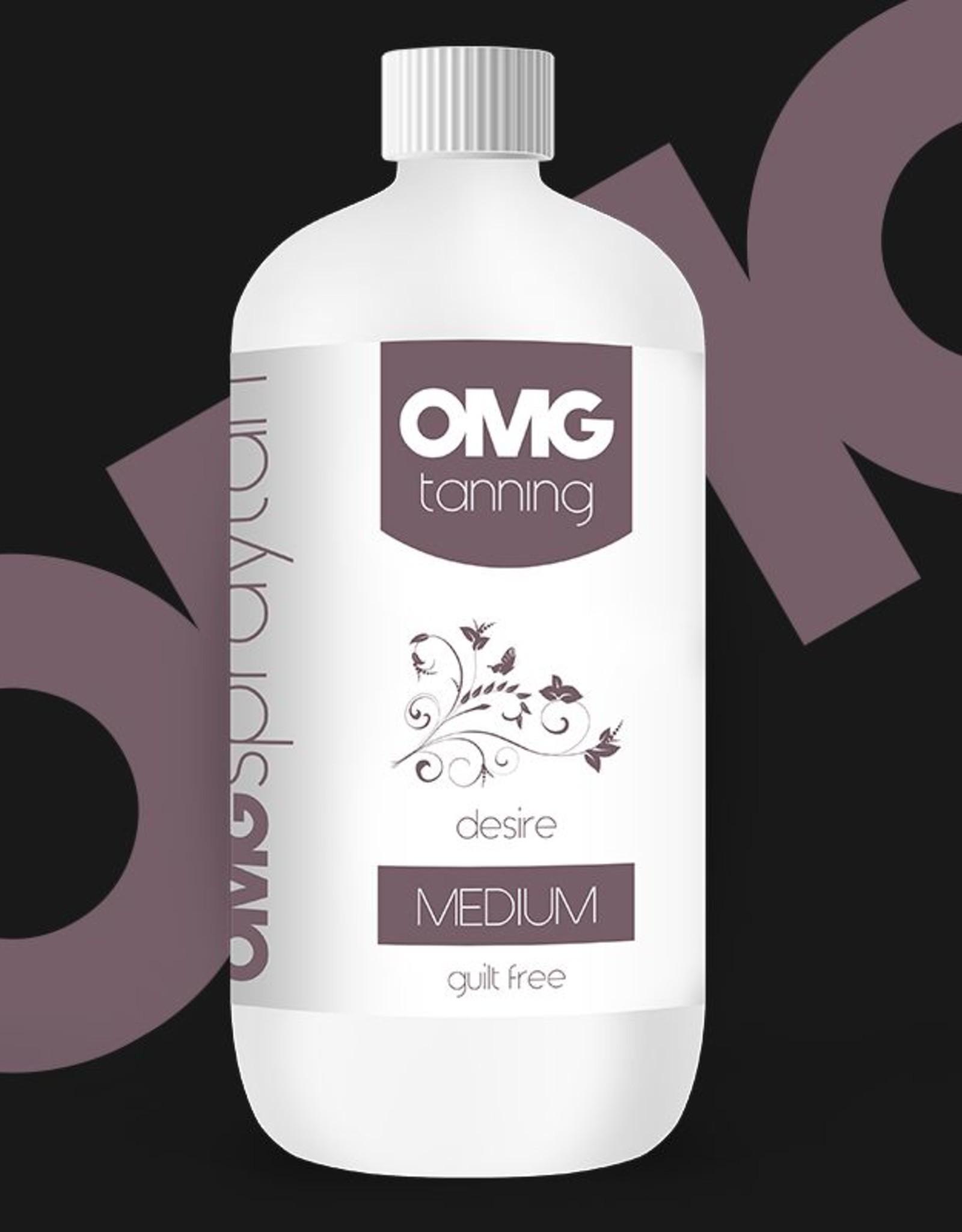 OMG Desire - Medium Tan