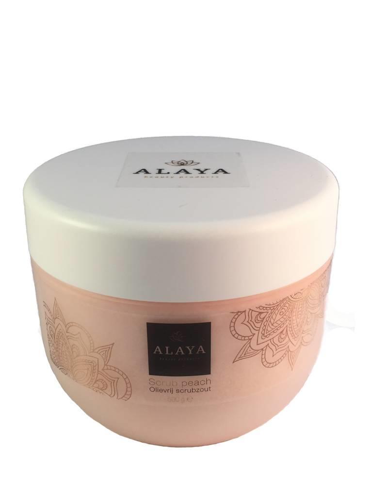 ALAYA® Alaya olievrij peach scrubzout