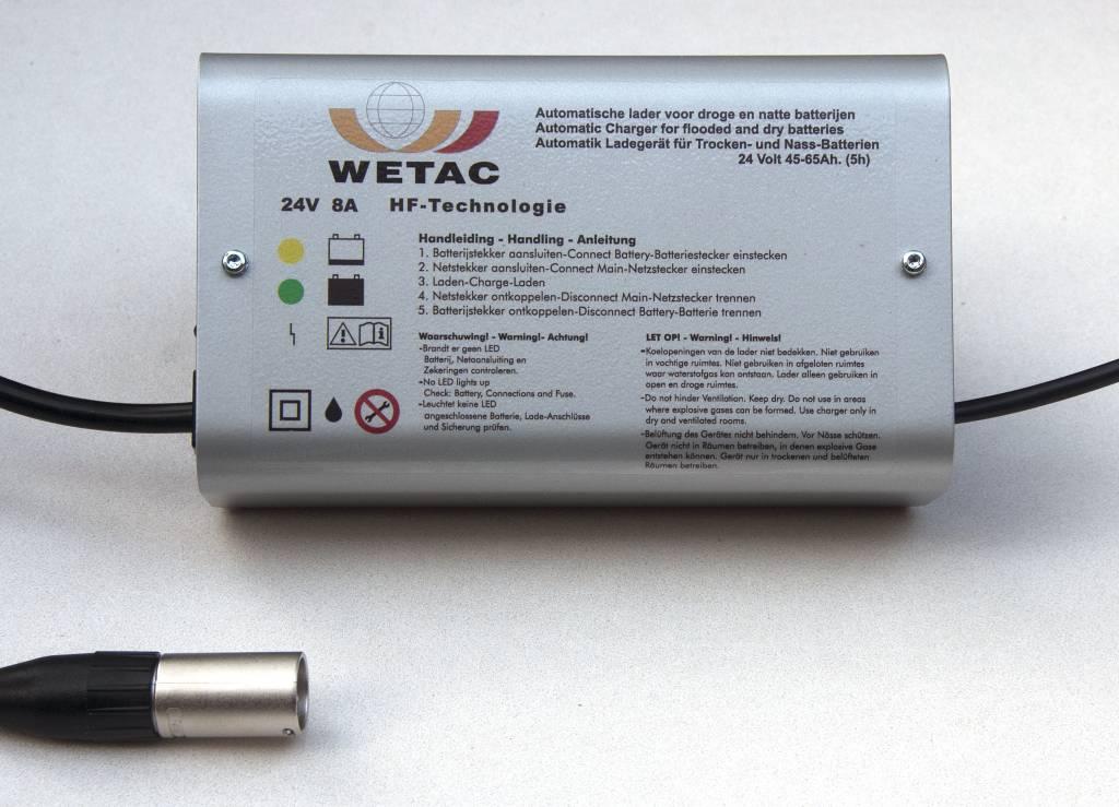Superbly Scootmobiel acculader 24 Volt 8 Ampere www.scootplaza.nl SQ07