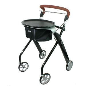 TrustCare  Let's Dream Black Swan Indoor Rollator