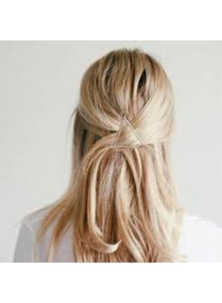 Jozemiek ® Minimalistisches Haarnadel-Dreieck