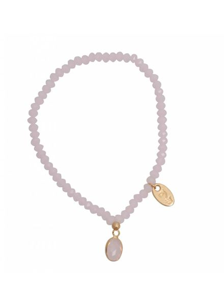 Jozemiek ® Jozemiek Cristal Stone Oval Rose