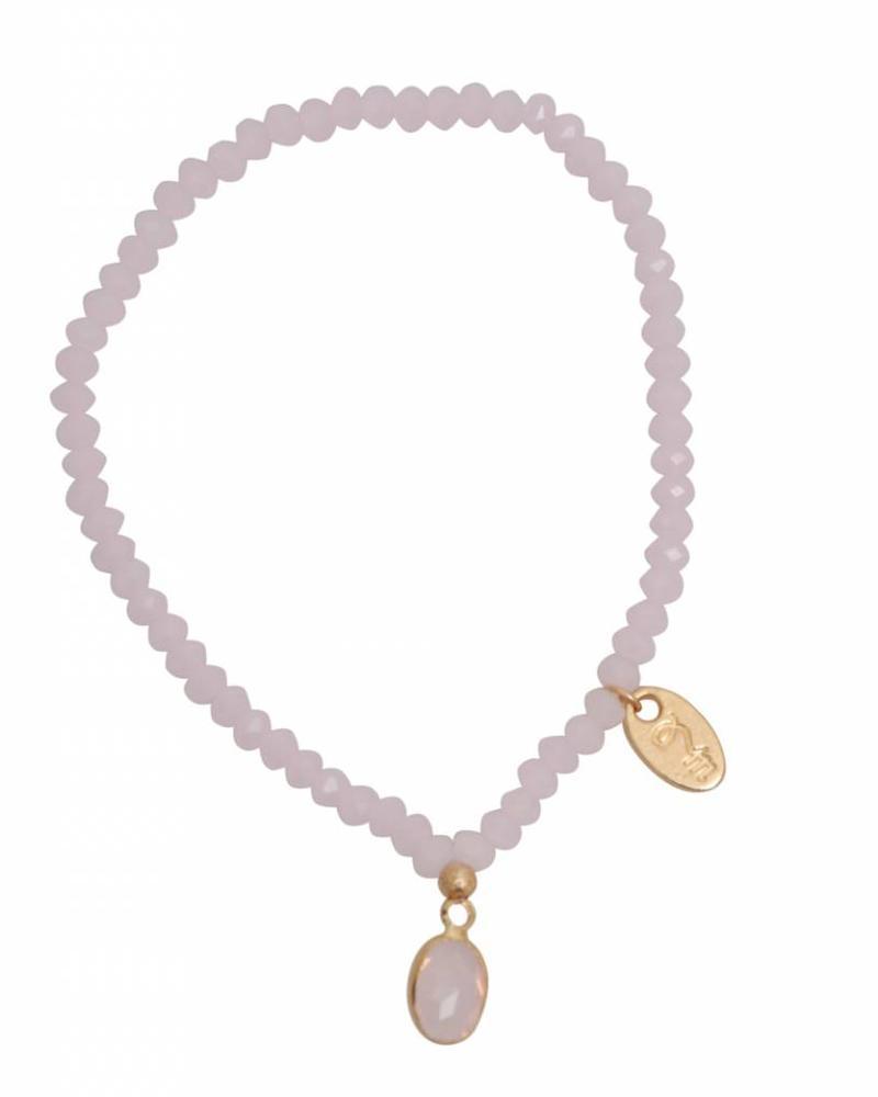 Jozemiek ® Jozemiek Cristal Stone Oval Pink
