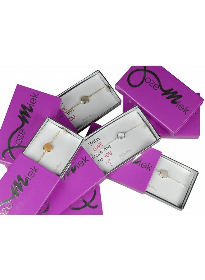 Mit Liebe! Armband in originaler Geschenkbox
