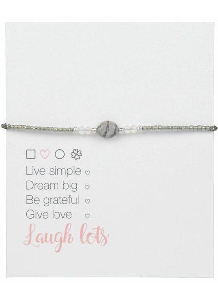 Jozemiek ® Jozemiek Natural Stone Bracelet Gray l LIMITED EDITION