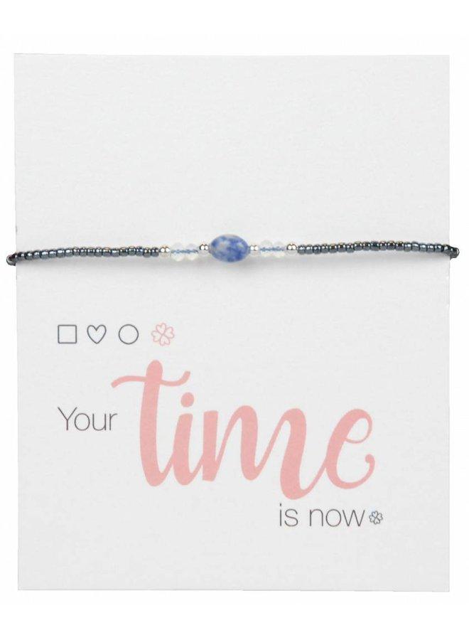 Jozemiek Armband Natural Stone Blau l LIMITED EDITION