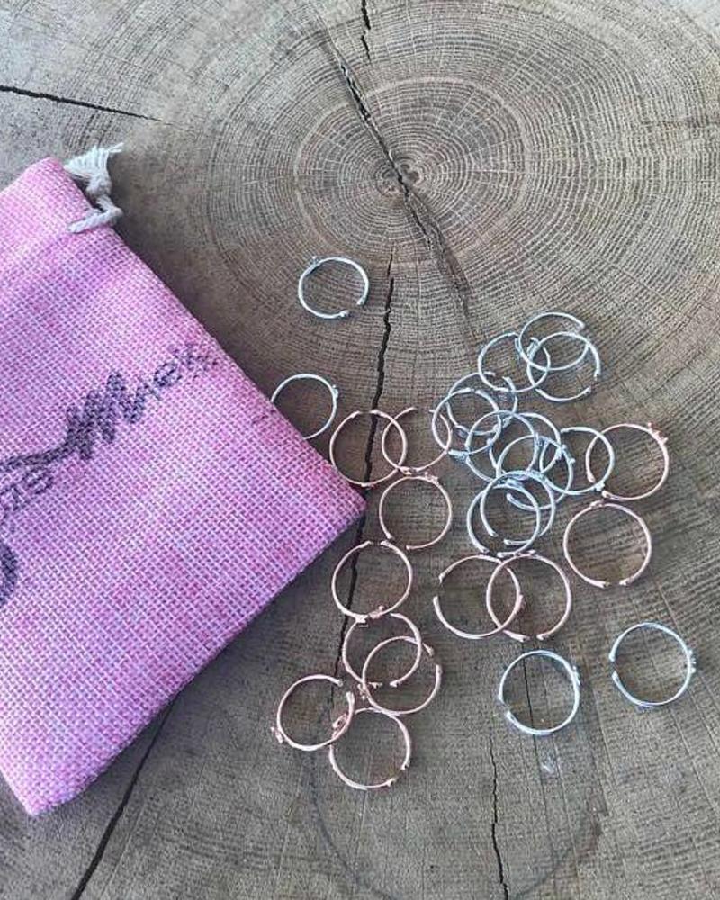 Jozemiek ® Initial Ring silver by Jozemiek