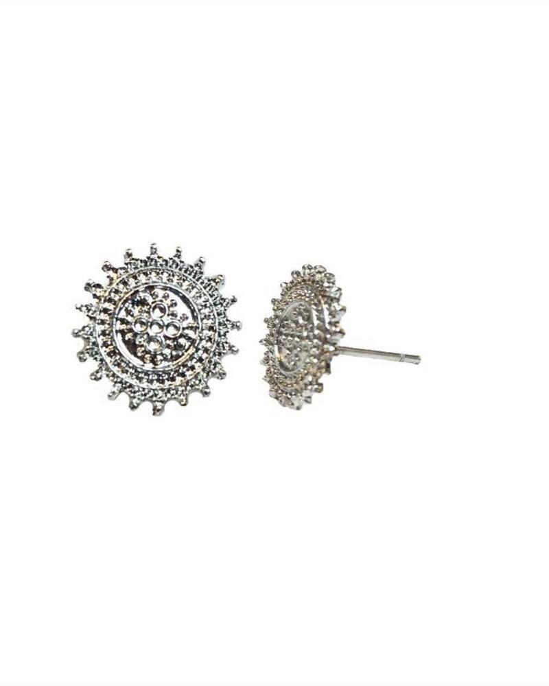 Jozemiek ® VINTAGE SUN Stud earring silver