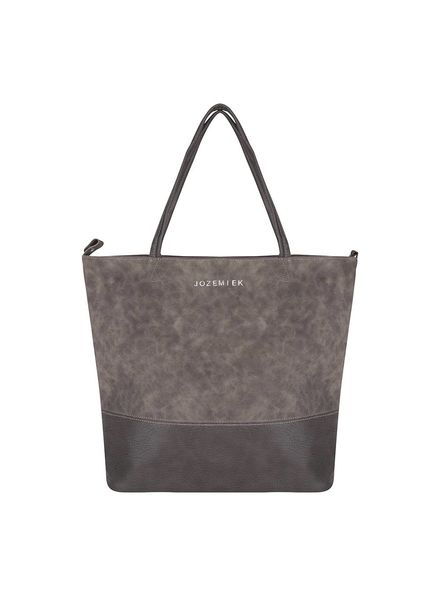 Jozemiek ® Jozemiek Suedine Bag Natural Gray