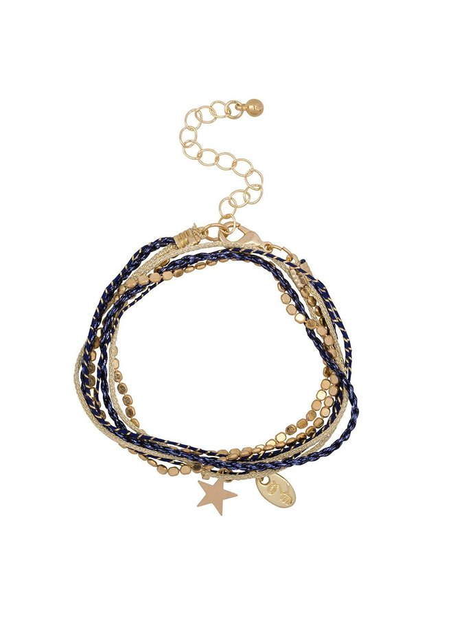 Jozemiek Rakhi star collection: MIDNIGHT BLUE