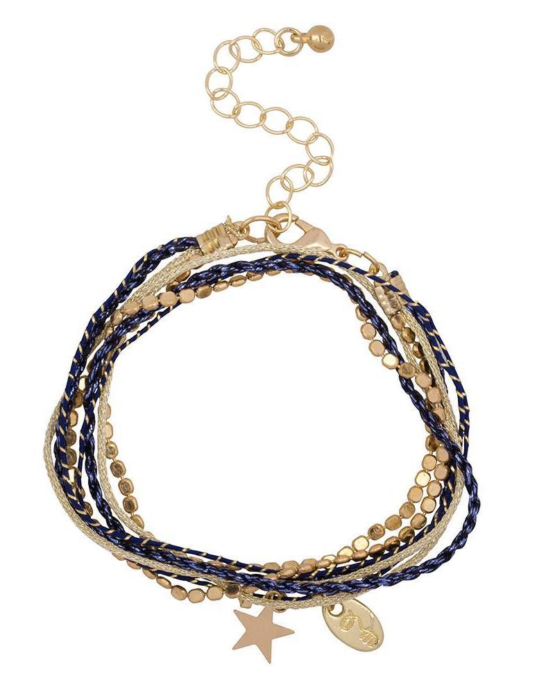 Jozemiek ® Rakhi star collection: MIDNIGHT BLUE