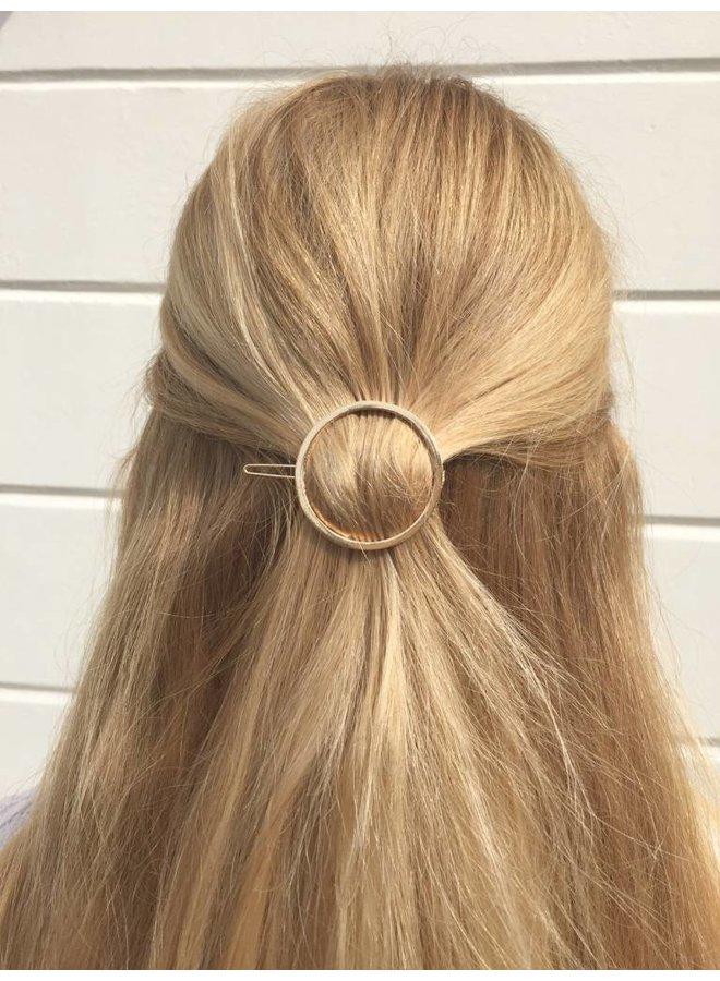 Minimalistische haarspeld cirkel