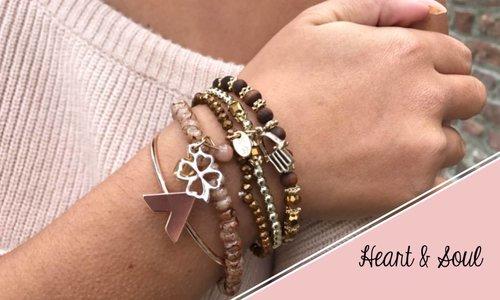 Heart and Soul bracelets