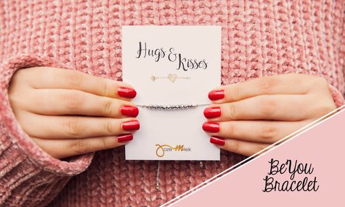 BeYou bracelets with free gift card