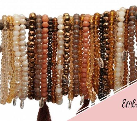 Embrace glass beads