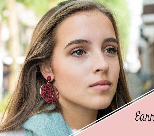 Jozemiek statement earrings