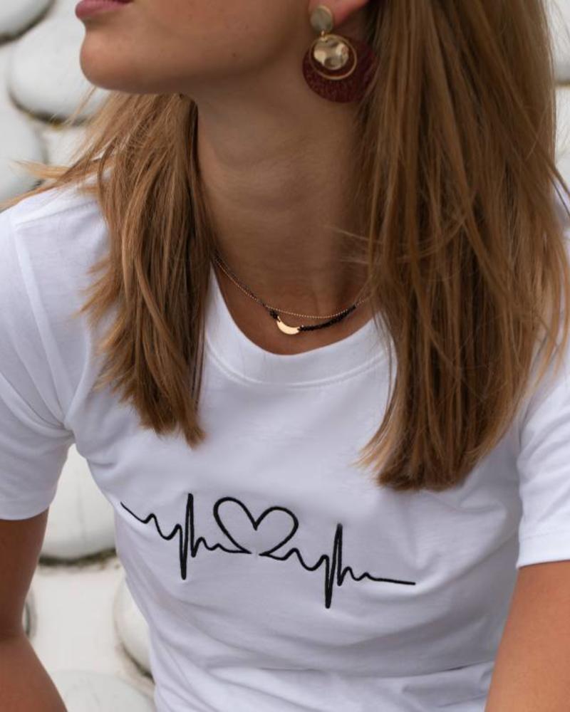 Jozemiek ® Gold Necklace MOON silver