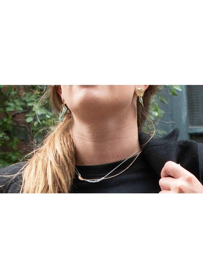 Halskette MOON Silber