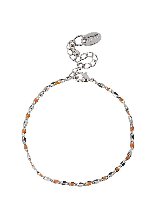 ONE DAY charity bracelet orange (14k yellow gold or white gold)