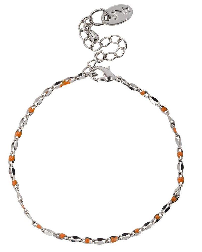 Jozemiek ® ONE DAY charity bracelet orange (14k yellow gold or white gold)