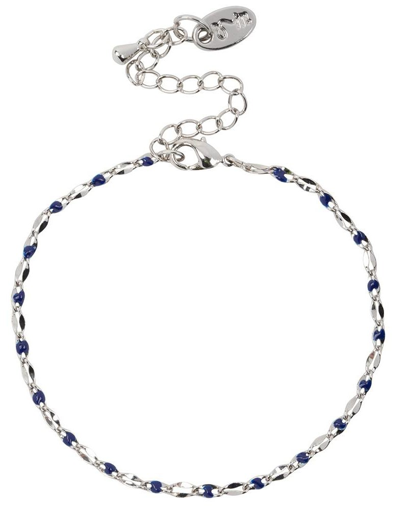 Jozemiek ® ONE DAY charity bracelet blue (plated 14k yellow gold or white gold)