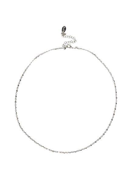Jozemiek ® ONE DAY Charity Halskette Cloud White (plattiertes 14 Karat Gelbgold oder Weißgold)