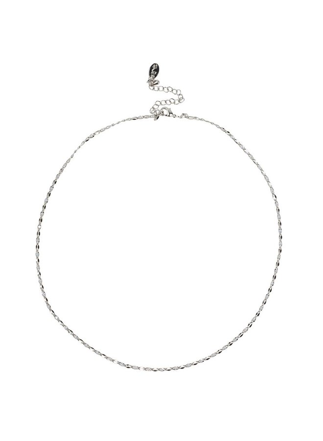 ONE DAY charity necklace cloud white (plated 14k yellow gold or white gold)