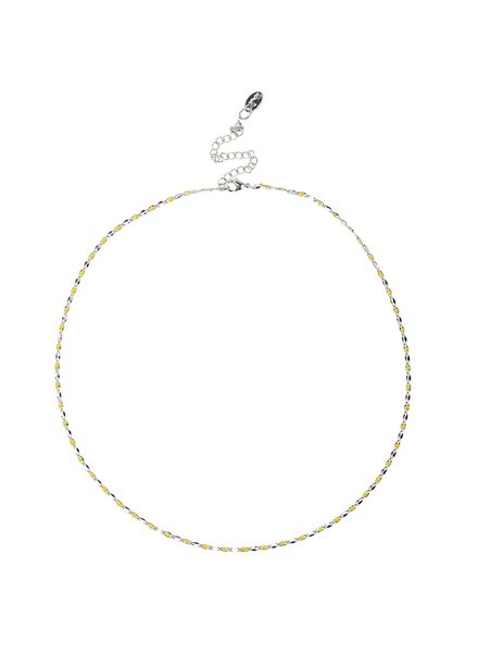 Jozemiek ® ONE DAY charity ketting geel  ( 14k geel goud of wit goud)