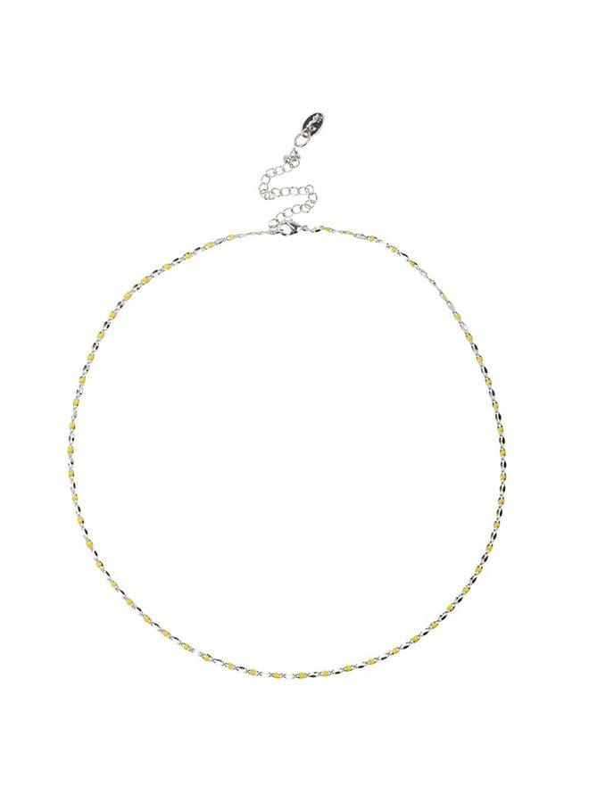 ONE DAY Charity Halskette Gelb (14 Karat vergoldetes Gelbgold oder Weißgold)