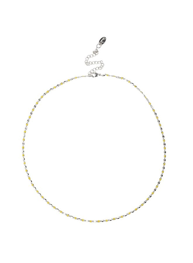 ONE DAY charity necklace yellow (14k plated yellow gold or white gold)