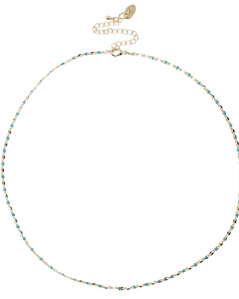 Jozemiek ® ONE DAY charity necklace aqua