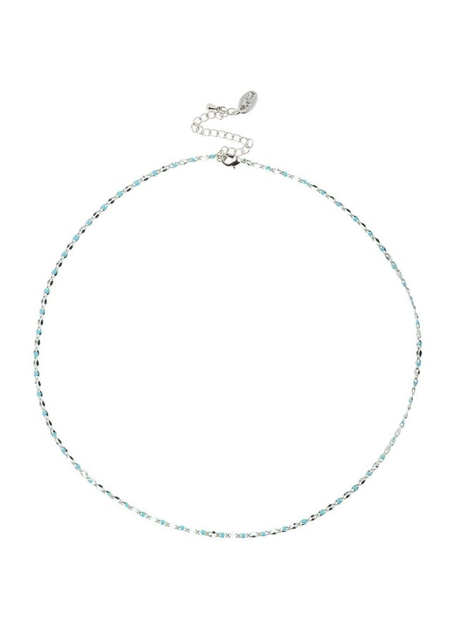 ONE DAY charity necklace aqua
