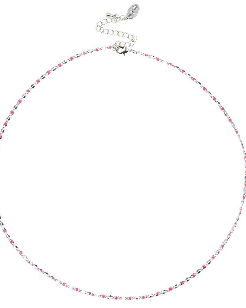 Jozemiek ® ONE DAY charity necklace fuchsia