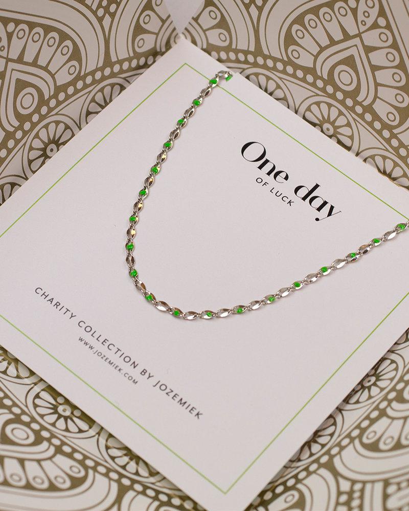 Jozemiek ® ONE DAY charity necklace green