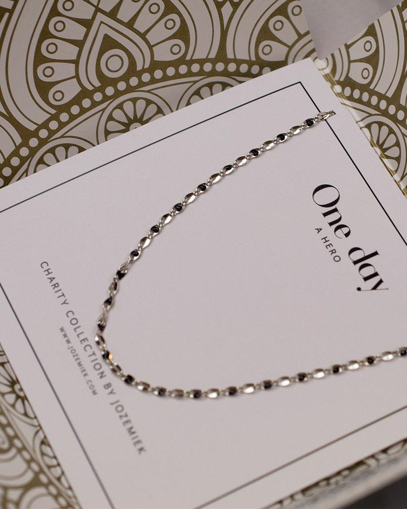 Jozemiek ® ONE DAY charity necklace black