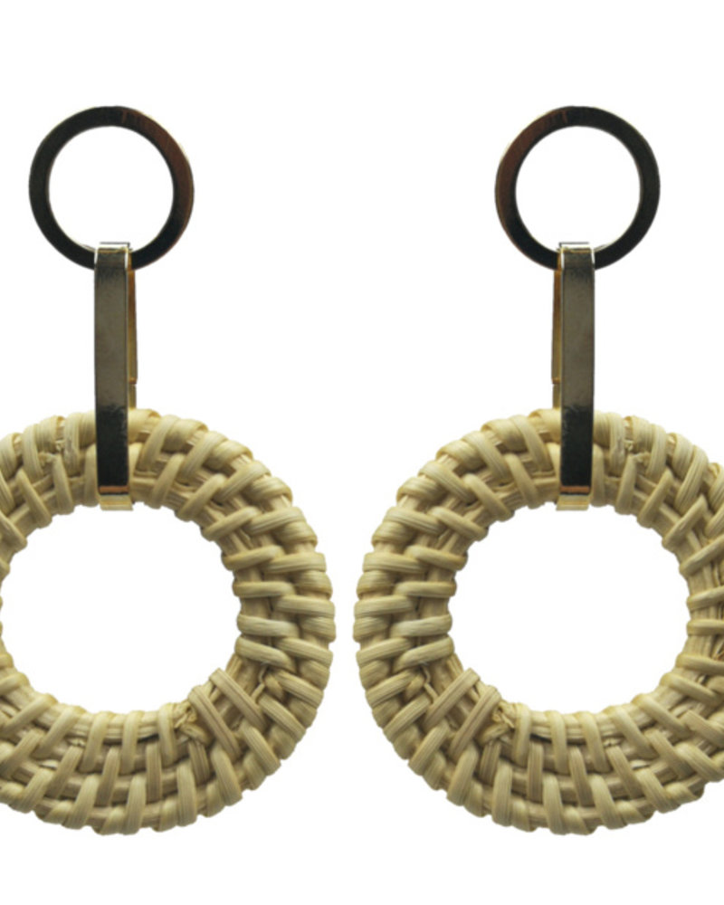 Jozemiek ® Statement earring reed