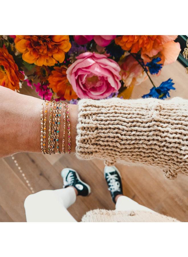 bestanden Set! ONE DAY Charity Halskette & Armband