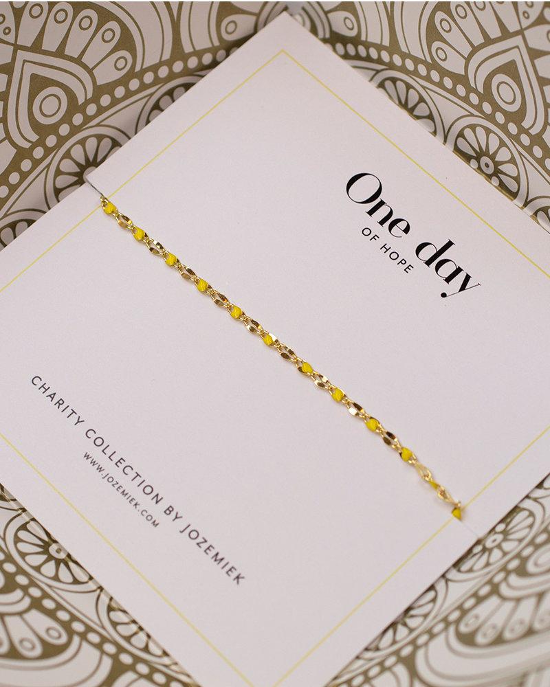 Jozemiek ® graduation Set! ONE DAY charity necklace & bracelet