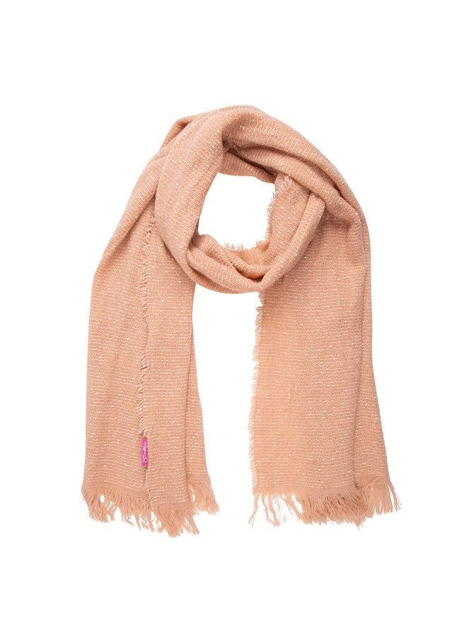 Jozemiek  Shawl roze, dots Cashmere touch