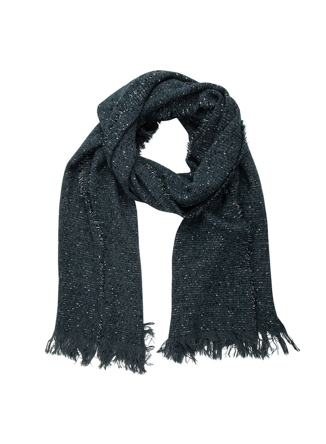 Jozemiek Shawl dark blue, dots Cashmere touch