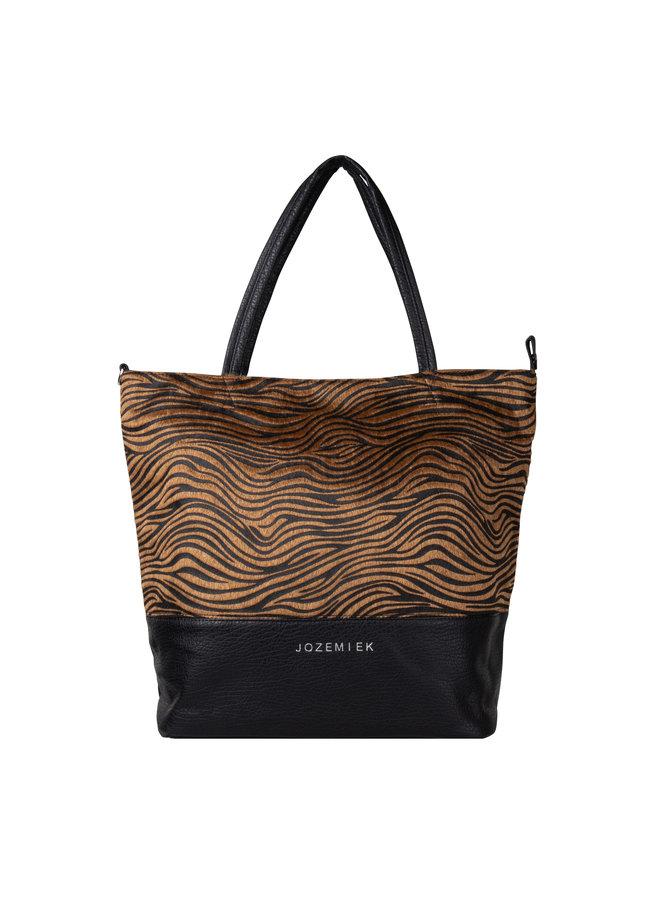 Zebra Shopper brown