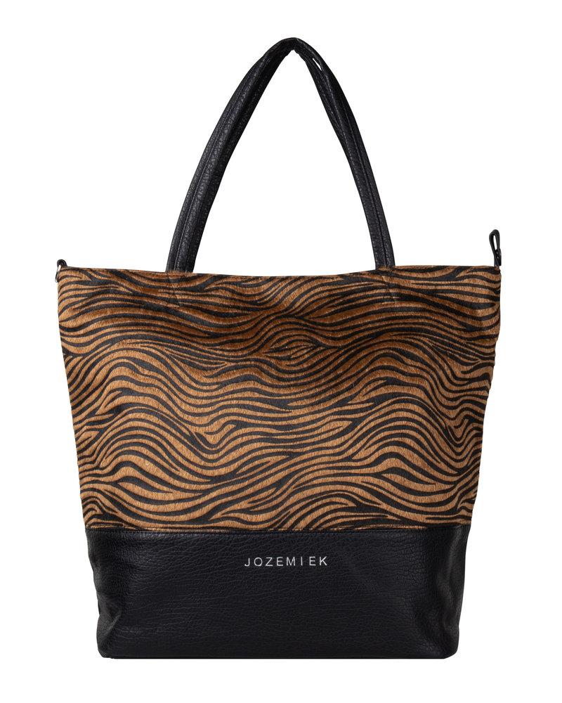 Jozemiek ® Jozemiek Zebra Shopper braun