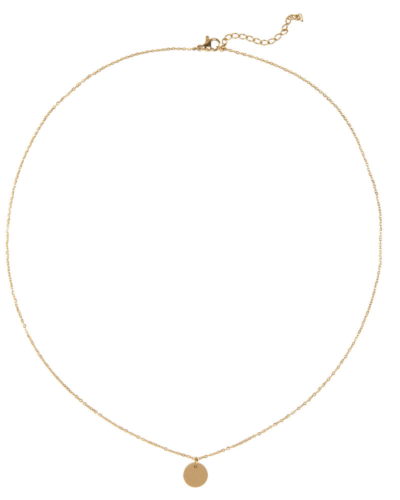 Jozemiek ® Jozemiek Libra necklace, stainless steel plated with 18k gold with gift card and envelope.