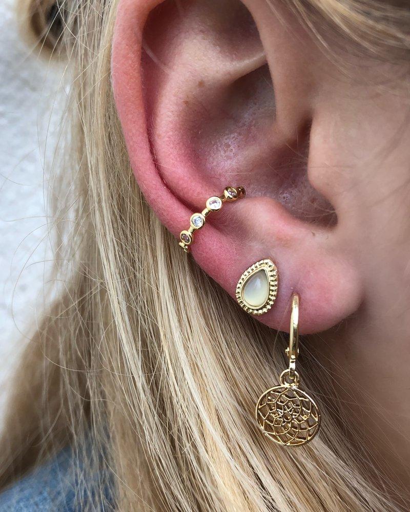 Jozemiek ® Jozemiek ear cuff strass