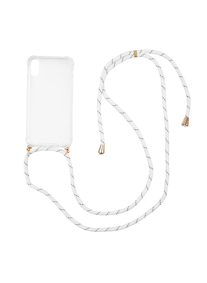 Jozemiek phone case with cord Iphone XR