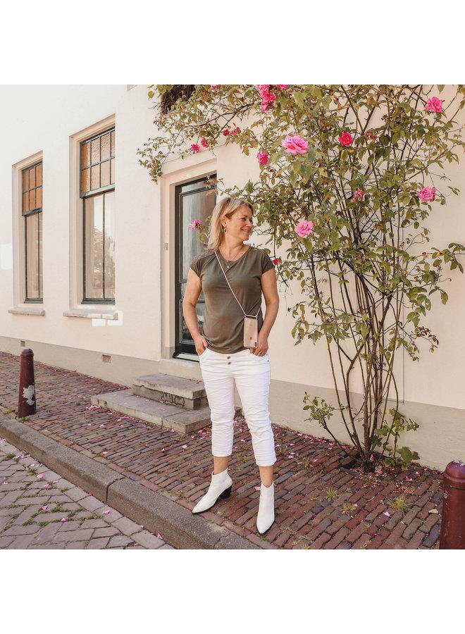 Jozemiek jeans Ziva - White