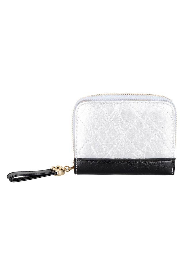 Jozemiek Compact wallet Kimmy -Silver
