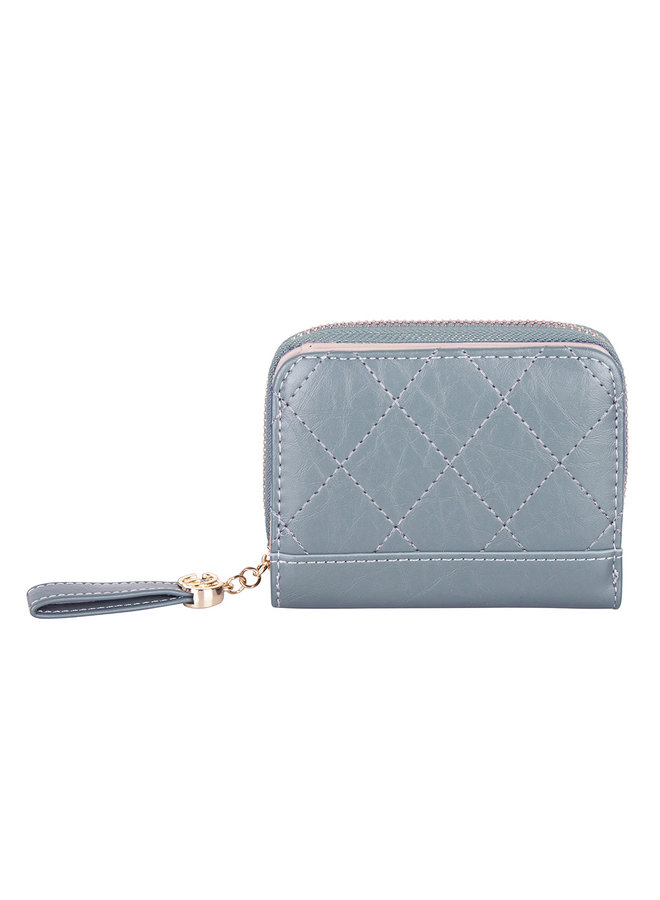Kompakte Brieftasche Kimmy - Blau